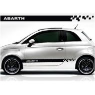 Ornament autocolant ABARTH (set 2 buc)