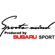 Sticker Sports Mind - SUBARU