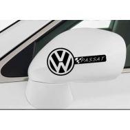 Sticker oglinda VW (set 2 buc.)