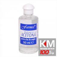 Acetona, dizolvant, 50ml