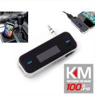 Modulator FM cu CarKit pentru iPhone si alte telefoane (V2)