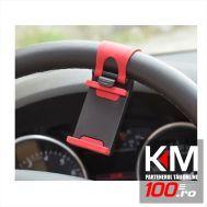 Suport telefon cu prindere pe volan