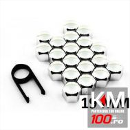 Set capace prezoane din INOX, 19mm - LAMPA ITALY