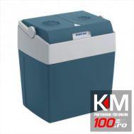 Lada frigorifica auto Mobicool 12V/230V 50 Hz , 25 litri si 2 ventilatoare , 39.6x29.6x39.5 cm