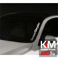 Sticker parbriz Chrysler