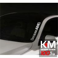 Sticker parbriz AMG