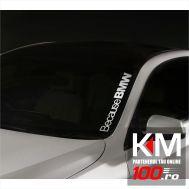 Sticker parbriz BMW