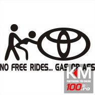 Sticker NFR Toyota