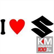 I Love Suzuki Sigla