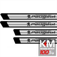 Set protectii praguri CROM - Peugeot