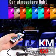 Lumini UnderCar LED - RGB pentru interior sau exterior cu telecomanda