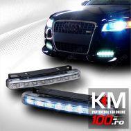 Proiectoare DRL cu 8 LED-uri