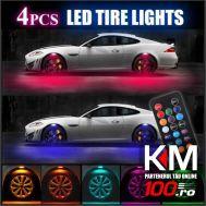 Lumini UnderCar, 8 capsule LED cu lupa, cu posibilitate de montare interior - exterior