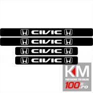 Set protectie praguri Honda Civic