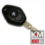 Carcasa cheie BMW, 3 butoane, lamela inclusa