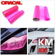 Folie protectie faruri / stopuri ORACAL (50 x 50 cm) - roz
