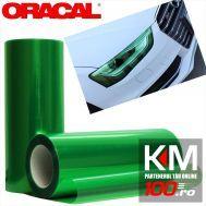 Folie protectie faruri / stopuri ORACAL (50 x 50 cm) - verde (Turquoise)
