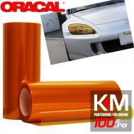 Folie protectie faruri / stopuri ORACAL (50 x 50 cm) - orange
