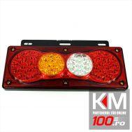 Lampa stop SMD 2010L (stanga) Voltaj: 12V-24V Nr. led-uri: 61 SMD Rezistenta la apa: IP66