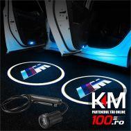 Proiectoare in portiera cu logo BMW ///M - NOU! 5 Watt (set 2 buc)