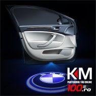 Proiectoare in portiera cu logo BMW - NOU! 5 Watt (set 2 buc)