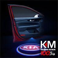 Proiectoare in portiera cu logo KIA - NOU! 5 Watt (set 2 buc)