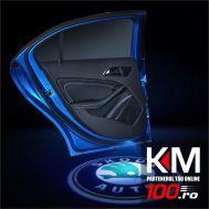 Proiectoare in portiera cu logo SKODA - NOU! 5 Watt (set 2 buc)