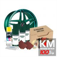 Kit reparatie jante, culoare VERDE INCHIS (V4) - Cod RAL: 6009