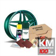 Kit reparatie jante, culoare VERDE INCHIS (V1) - Cod RAL: 6009
