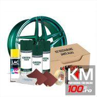 Kit reparatie jante, culoare VERDE INCHIS (V3) - Cod RAL: 6009