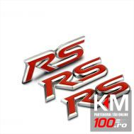 Emblema auto RS (reliefata 3D)