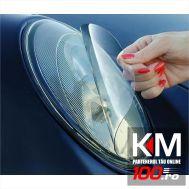 Folie protectie faruri / stopuri (60 x 60 cm) - transparent