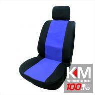 Set huse auto SLIM (negru + albastru)