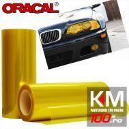 Folie protectie faruri / stopuri ORACAL (50 x 50 cm) - galben