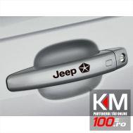 Sticker manere usa - JEEP (set 4 buc.)