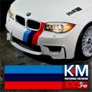 Sticker ornament auto model BMW ///M Power (50cm x 21cm)