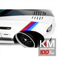 Sticker ornament auto model BMW ///M Power (50cm x 18cm)