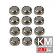 Set 12 baterii AG10 pentru capace ventil LED