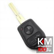 BMW - Carcasa cheie 3 butoane cu lama 4 piste (stil nou)