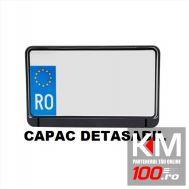 Suport numar inmatriculare pentru motociclete, 21 x 14 cm