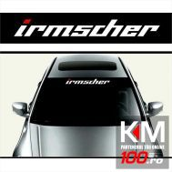 Sticker parasolar auto IRMSCHER (126 x 16cm)