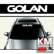 Sticker parasolar auto GOLAN (126 x 16cm)