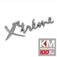 Emblema auto Extreme (reliefata 3D) - cu banda adeziva