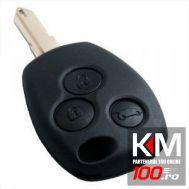 Carcasa cheie Renault, 3 butoane