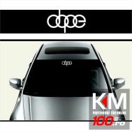 Sticker parasolar auto DOPE (126 x 16cm)