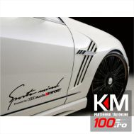 Sticker Sports Mind AUDI (pret pe bucata)