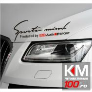 Sticker Sports Mind - AUDI SPORT