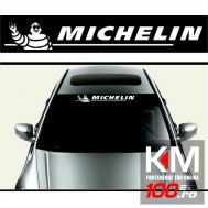 Sticker parasolar auto MICHELIN (126 x 16cm)