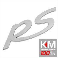 Emblema auto RS (reliefata 3D) - cu banda adeziva