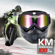 Masca cu Ochelari pentru MOTO & ATV